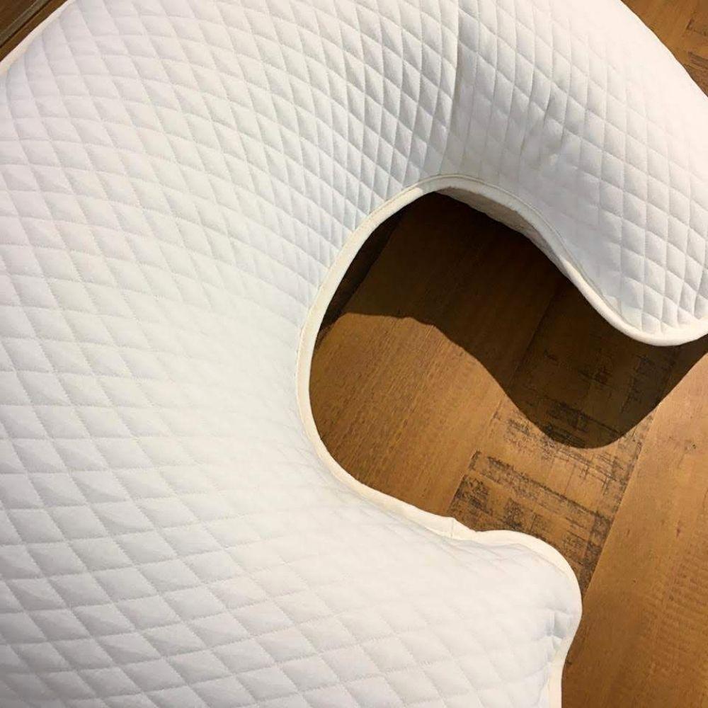 Almofada Para Amamentação Matelassê Off White