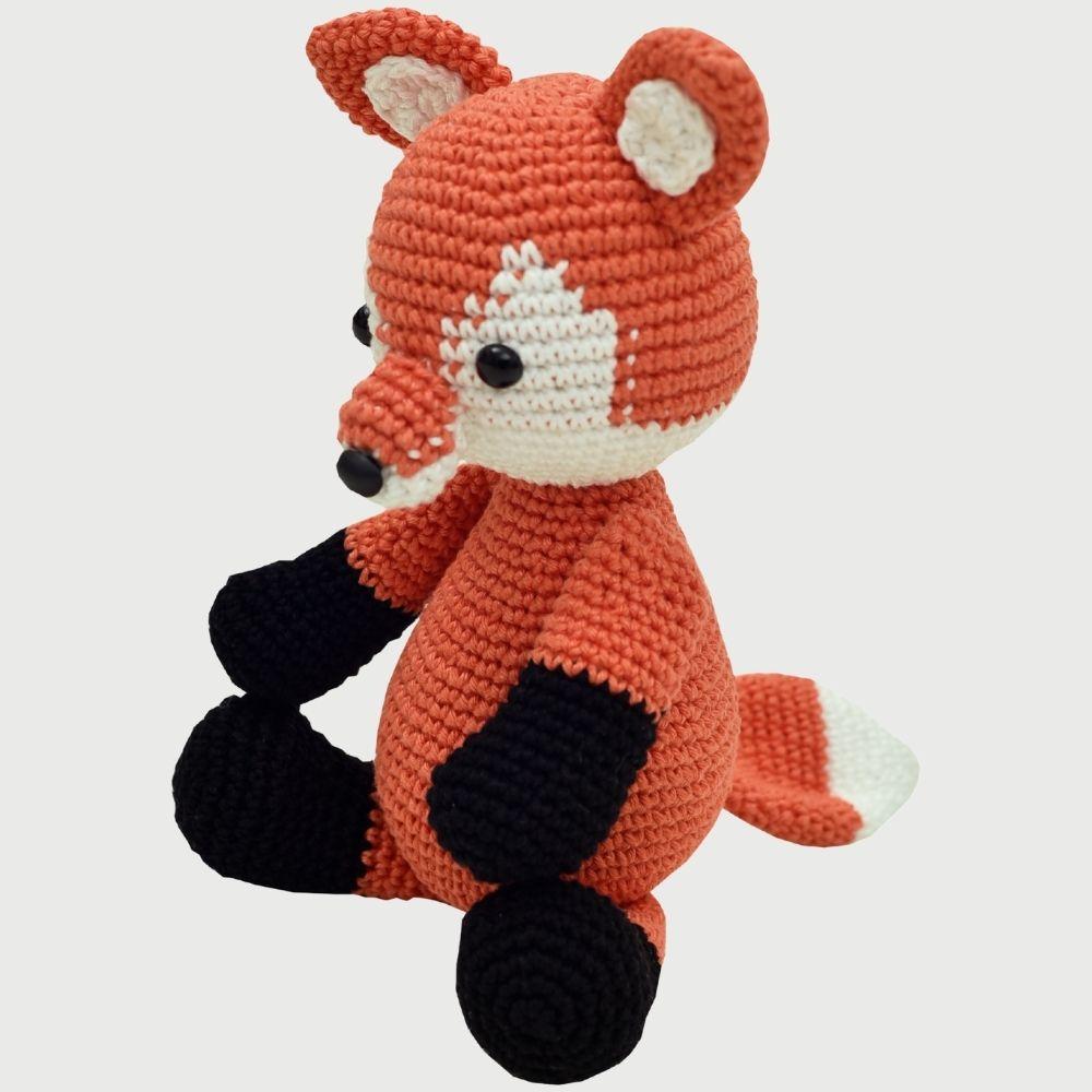 Amiguinho Artesanal Em Crochê Fox