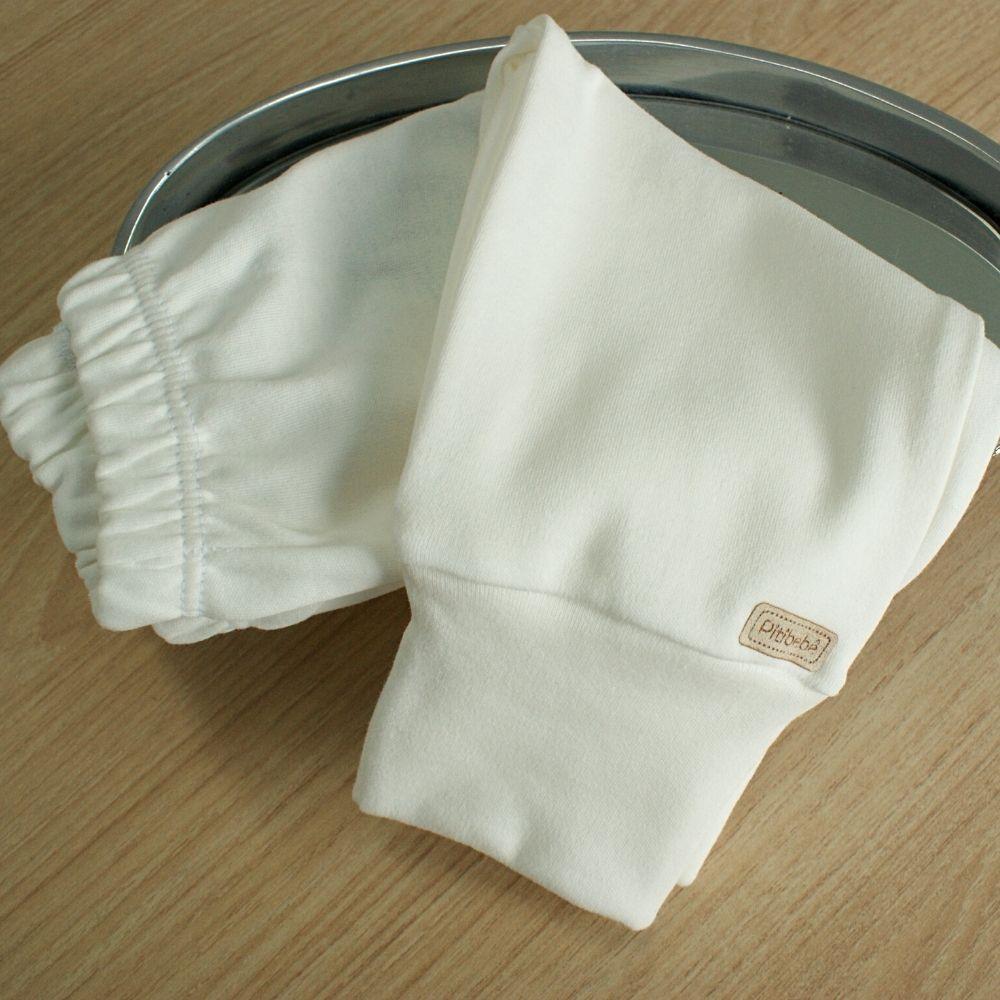 Calça Suedine Fio Egípicio Liso Off White