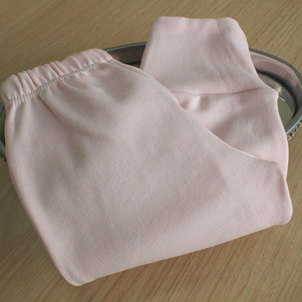 Calça  Suedine Fio Egípicio  Liso Rosa