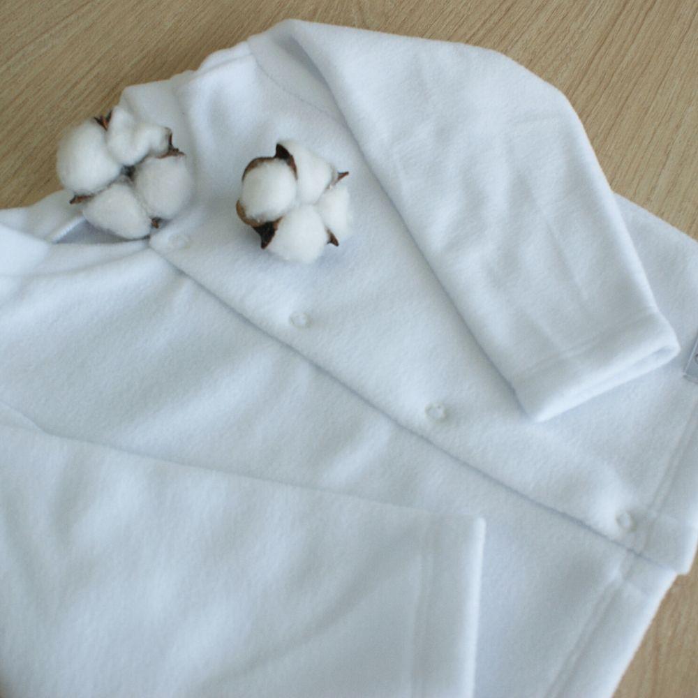 Casaquinho Soft Liso Branco
