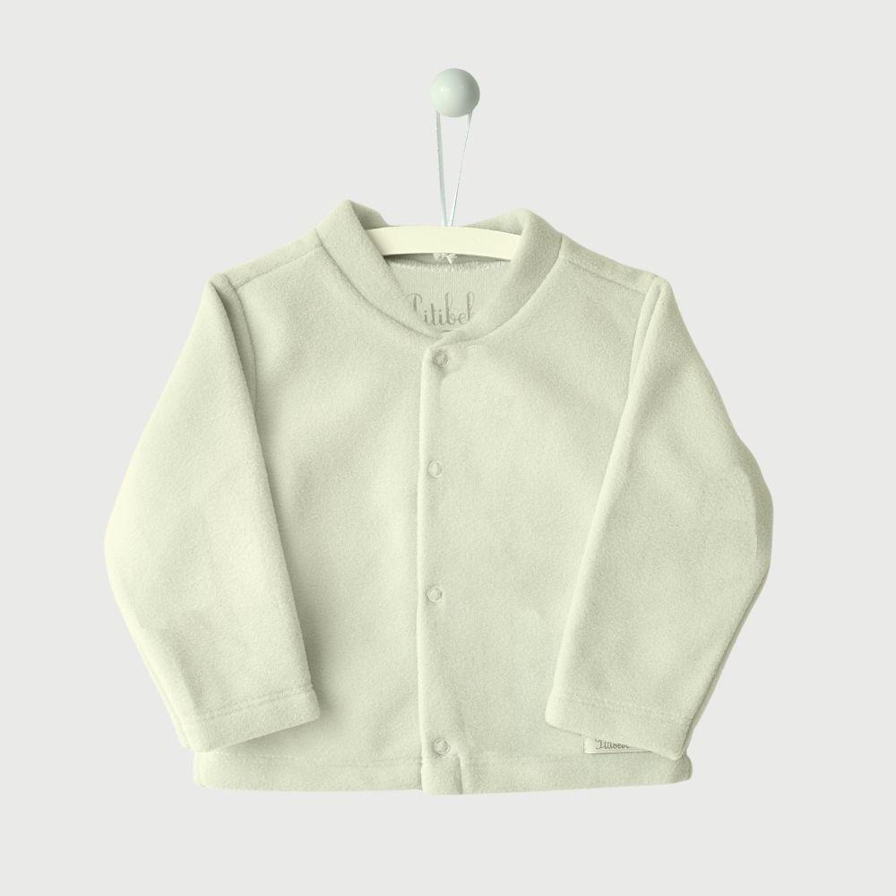 Casaquinho Soft Liso Off White