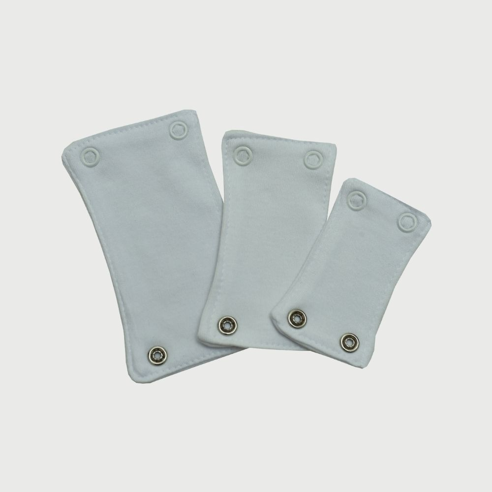Kit Extensor Prolongador De Body Liso Branco