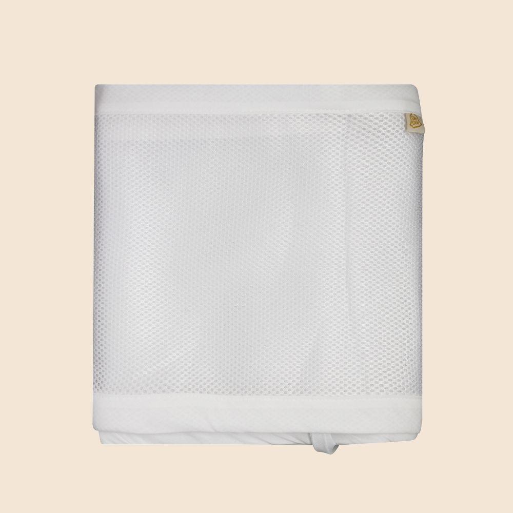 Protetor Telado Para Laterais Do Berço Branco