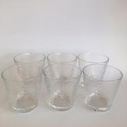 Conjunto Copos de Vidro Glass 6 peças