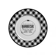 Jogo de Prato Sobremesa Barbecue - 103 6 peças