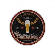 Jogo de Prato Sobremesa Beer - 103 C 6 peças