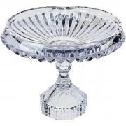Prato para Bolo Renaissance de Cristal com Pé