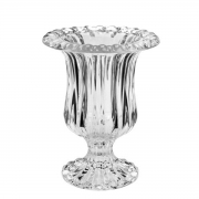 Vaso Renaissance de Vidro com Pé