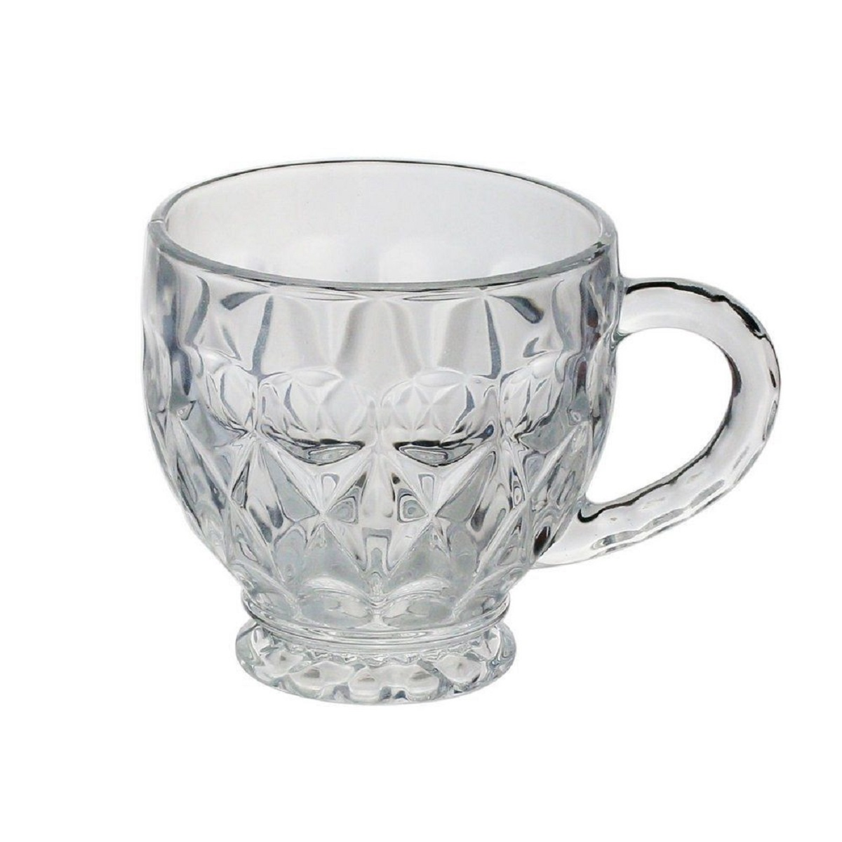 Conjunto Xícaras de Cristal Lili 6 peças
