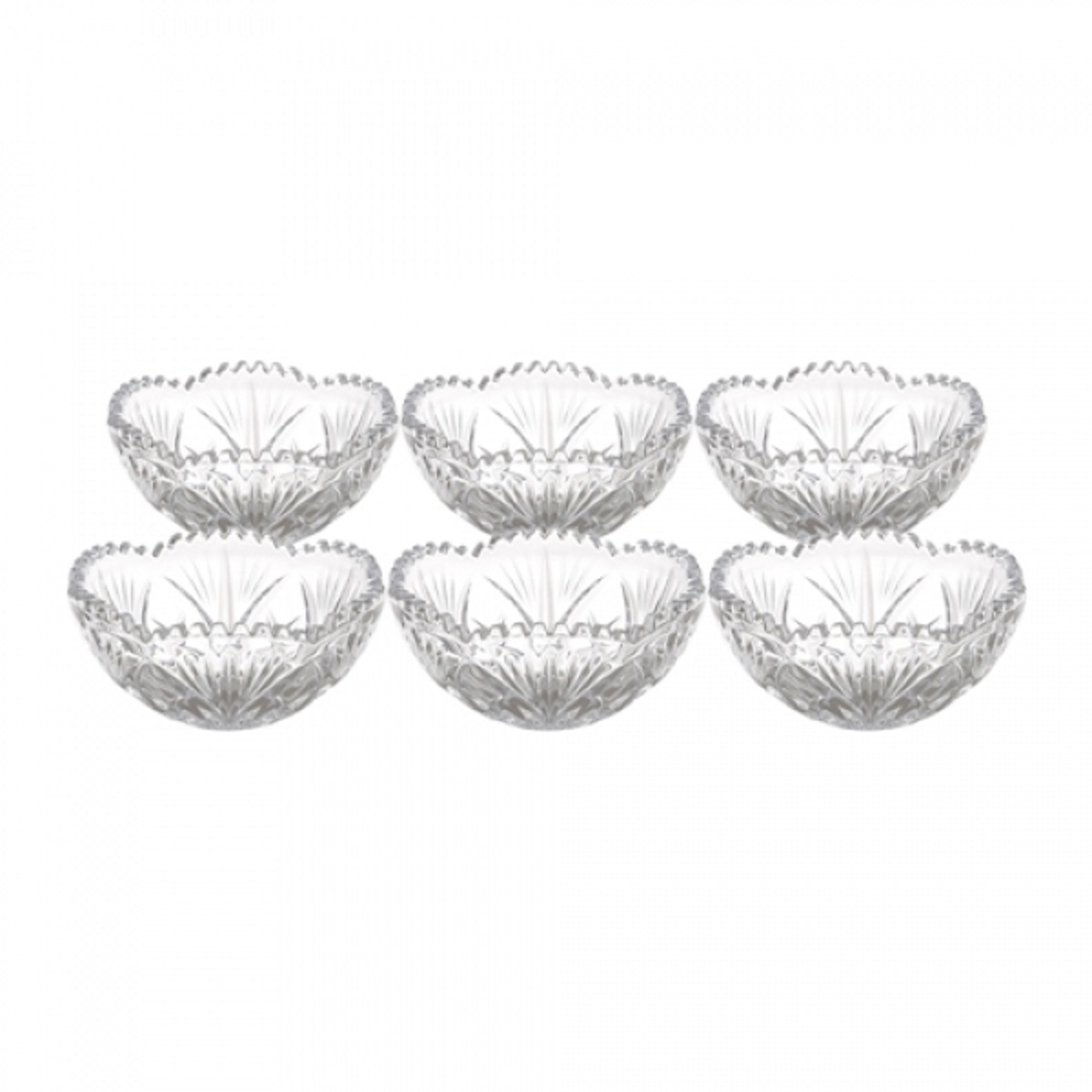 Jogo Bowls de Cristal Alberta 6 peças
