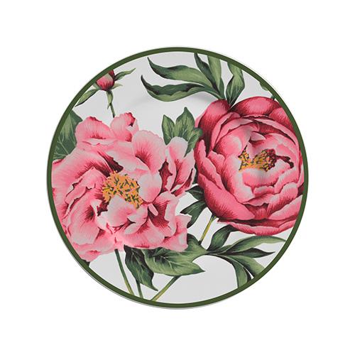 Jogo de Prato Sobremesa Peony Rose 6 peças
