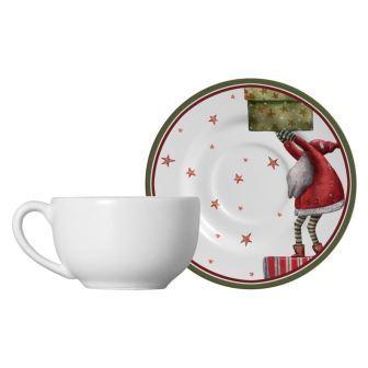 Jogo de Xícaras de Chá Father Christmas 6 peças