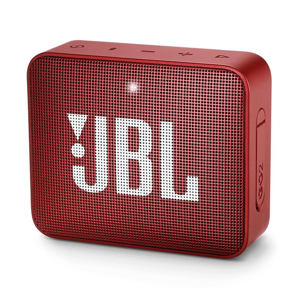 Alto-falante Jbl Go 2 Portátil Bluetooth Original Vermelho
