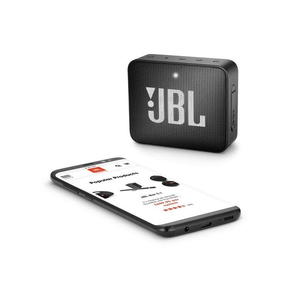 Caixa De Som Jbl Go2 Original Portátil Bluetooth Preto
