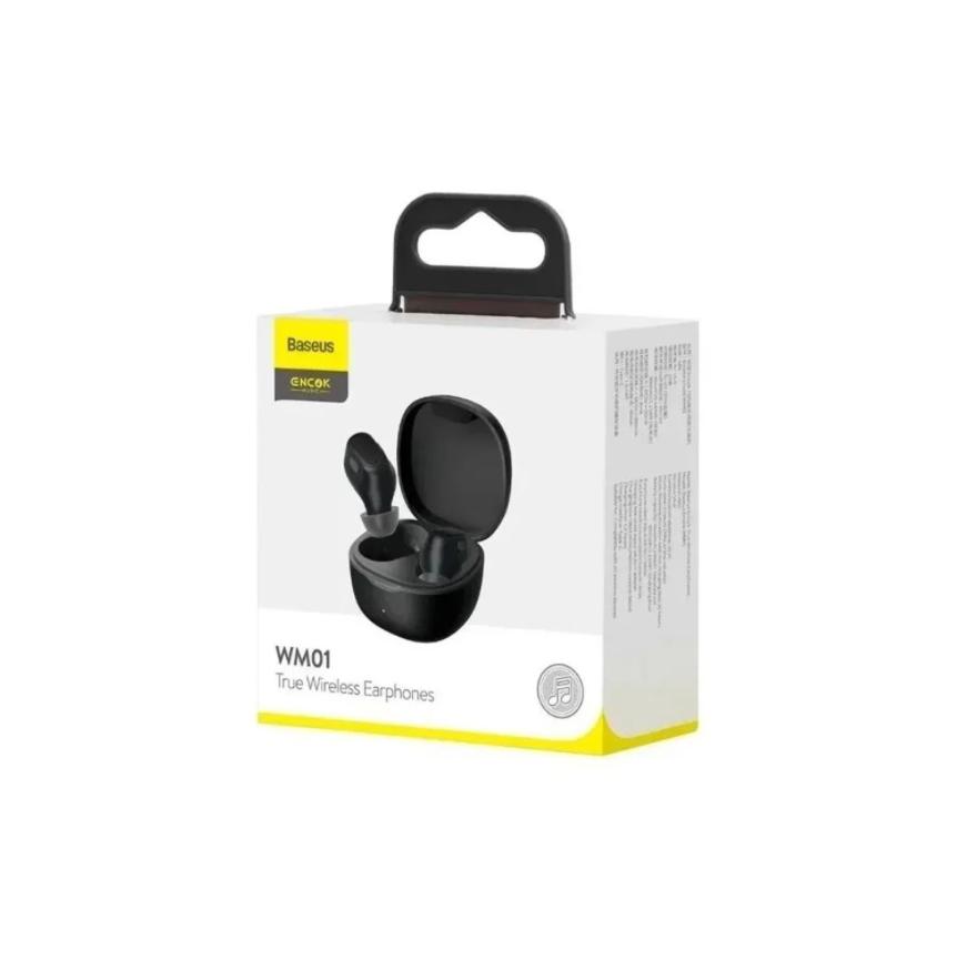 Fone De Ouvido Baseus Encok Wm01 Earphones Wireless Bluetooth 5.0