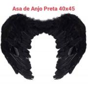 Asa de Anjo Preta Medida 40 x 45 cm - BPG