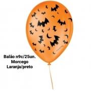 Balão No 9 Morcego Laranja/Preto - São Roque