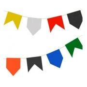 Bandeirão plástico 10 metros - Real Seda