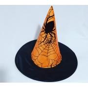 Chapéu Bruxa laranja -