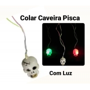 Colar Pisca Caveira - BPG