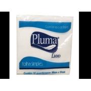 Guardanapo 30x31 Luxo c/50  folha simples - Pluma