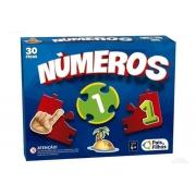 Jogo Brincar de Aprender Números 30 peças - Pais e Filhos