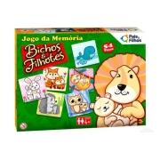 Jogo de Memória Bichos e Filhotes - Pais e Filhos