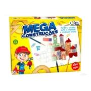 Jogo Mega Construções em Madeira 150 peças - Pais e Filhos
