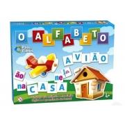 Jogo O Alfabeto Aprendizado Das Letras - Pais e Filhos