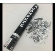 Lança Confete Prata 38cm un -