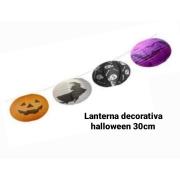 Lanterna Decorativa Halloween 30 cm (As cores podem variar) - Bazar Import