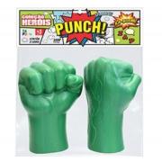 Luva Verde Infantil Super Heróis - Le Plastic