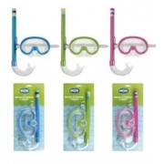 Mascara Mergulho E Snorkel Infantil Mor - Cores Sortidas - Mor