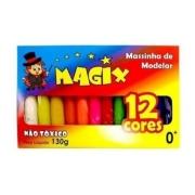 Massa de Modelar 12 cores 130 g -