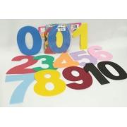 Numeros de 0 a 10 de 15cm em EVA - Pet Toy