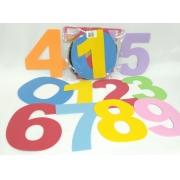 Numeros de 0 a 10  de 20cm em EVA - Pet Toy