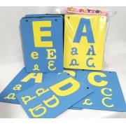 Painel ABC Varal c/26pcs em EVA 20x27cm - Pet Toy