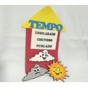 Painel Tempo em EVA 27x51cm - Pet Toy