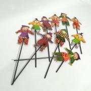 Palito Bruxa com 10 unidades 27cm - Festança