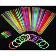 Pulseira Neon c/50 un enfeite decor festa -