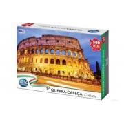 Quebra Cabeça 500 peças Coliseu - Pais e Filhos