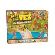 Quebra Cabeça Era uma Vez em Madeira 30 peças - Pais e Filhos
