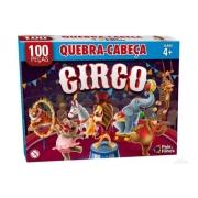 Quebra Cabeça O Circo 100 peças - Pais e Filhos