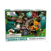 Quebra Cabeças Ursinho na Árvore 60 peças - Pais e Filhos