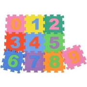 Tapete Encaixe Numeros c/10pcs 30x30cm - Pet Toy