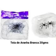 Teia Branca de Aranha 20 gms - Bazar Import