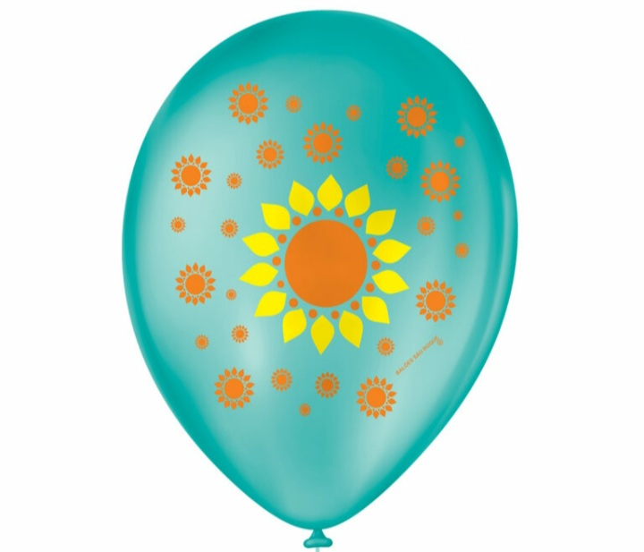 Balão No 9 Girassol  c/25 un -