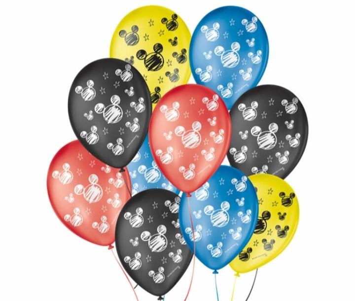 Balão No 9 Orelha de Rato c/25 un -