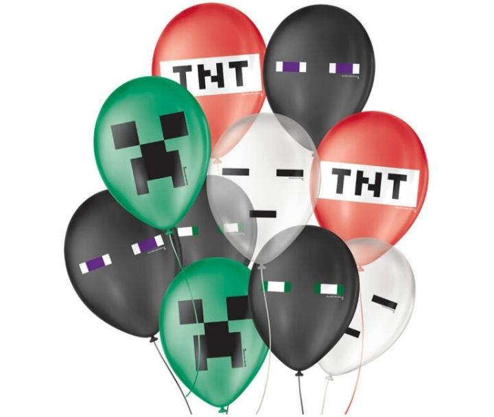 Balão No 9 Pixel c/25 un -